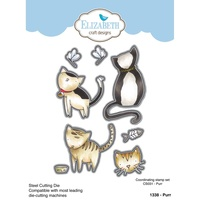 Elizabeth Craft Designs Dies Purr Cats