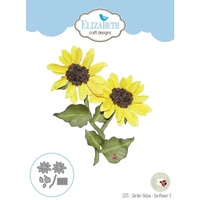 Elizabeth Craft Designs Dies Sunflower 2 EC1373