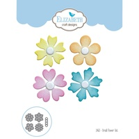 Elizabeth Craft Designs Dies Small Flower Set EC1463