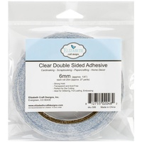 Elizabeth Craft Clear Double-Sided Adhesive Tape 6mm x 25m