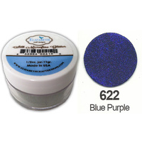 Elizabeth Craft Designs Silk Microfine Glitter 8g Jar 622 Blue Purple