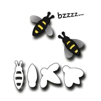 Elizabeth Craft Designs Dies Bees