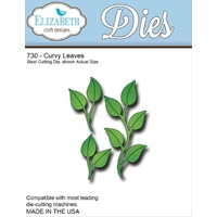 Elizabeth Craft Designs Dies Curvy Leaves