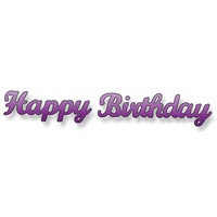 Elizabeth Craft Designs Dies Happy Birthday (Large)