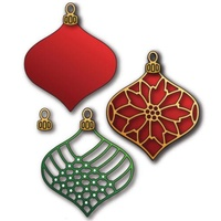 Elizabeth Craft Designs Dies Ornament Set 2
