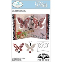 Elizabeth Craft Designs Dies Butterfly Pivot Card