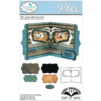 Elizabeth Craft Designs Dies Katie Label Pivot Card