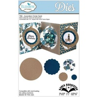 Elizabeth Craft Designs Dies  Pop It Up Accordion Circle Card