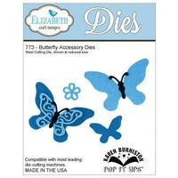 Elizabeth Craft Designs Dies - Pop It Up Butterfly Accessory FREE SHIPPING