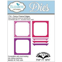 Elizabeth Craft Designs Dies Pop It Up Fancy Frame Edges