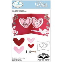 Elizabeth Craft Designs Dies - Pop It Heart Pivot Card FREE SHIPPING