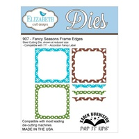 Elizabeth Craft Designs Dies Pop It Up Fancy Seasons Frame Edges