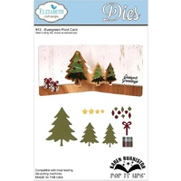 Elizabeth Craft Designs Dies Evergreen Pivot Card