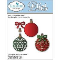Elizabeth Craft Designs Dies Ornament Set 3