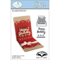 Elizabeth Craft Designs Dies Pop It Ups Happy Birthday PopUp Die 947