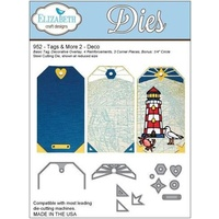 Elizabeth Craft Designs Dies Tags and More 2 Deco