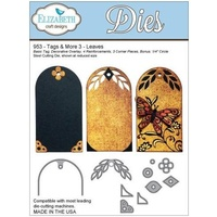 Elizabeth Craft Designs Dies Tags and More 3 Leaves