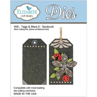 Elizabeth Craft Designs Dies Tags and More 5 Sunburst