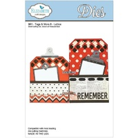 Elizabeth Craft Designs Dies Tags and More 8 Lattice