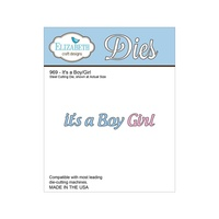 Elizabeth Craft Designs Dies Its a Boy Girl
