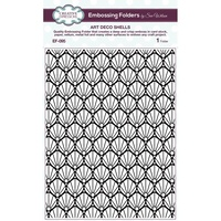 Creative Expressions Embossing Folders - Art Deco Shells