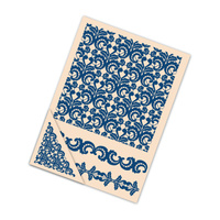 Tattered Lace Embossing Folder Lace