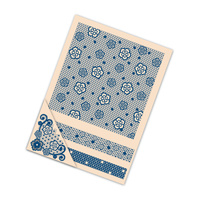 Tattered Lace Embossing Folders Floral Flourish
