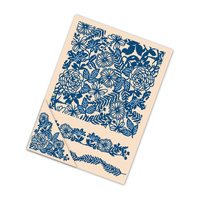 Tattered Lace Embossing Folders Floral Bouquet