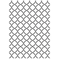 KaiserCraft Embossing Folder 5x7 Lattice FREE SHIPPING