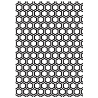 KaiserCraft Embossing Folder 5x7 Honey Comb FREE SHIPPING