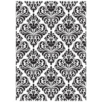 KaiserCraft Embossing Folder 5x7 Damask FREE SHIPPING