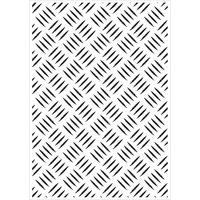 KaiserCraft Embossing Folder Checker Plate 10.6cm x 15cm FREE SHIPPING