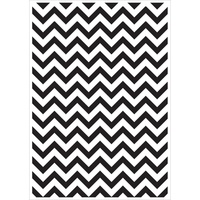 KaiserCraft Embossing Folder Chevron 10.6cm x 15cm FREE SHIPPING