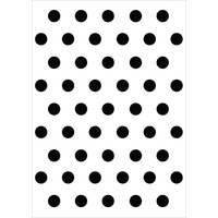 KaiserCraft Embossing Folder Dot 10.6cm x 15cm FREE SHIPPING