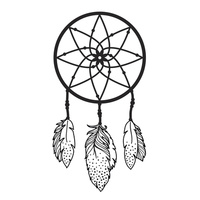 Kaisercraft Embossing Folder 10.6cm x 15cm Dreamcatcher EF244
