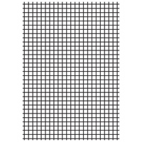 Kaisercraft Embossing Folder 10.6cm x 15cm Grid EF246 FREE SHIPPING