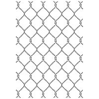 Kaisercraft Embossing Folder 4 x 6 Netting EF255