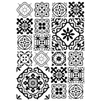 Kaisercraft Embossing Folder 4 x 6 Tiles EF257