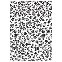 Kaisercraft Embossing Folder 10.5cm x 19.5cm Little Floral EF266