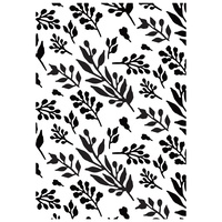 KaiserCraft Embossing Folder Foliage 10.5cm x 19.50cm