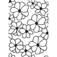 Kaisercraft Embossing Folder 4 x 6 Flowers EF280