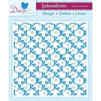 Crafter's Companion Die'sire Embossalicious 6x6 Embossing Folder Mistletoe Moments