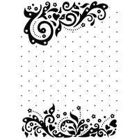 Nellie Snellen Embossing Folder Vintasia Celebrations 10.6cm x 15cm