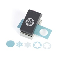 EK Success Paper Shapers Slim Profile Layering Punch Snowflake