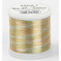 Madeira Metallic Machine Embroidery Thread No. 40 Astro 1 200m