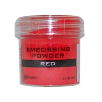 Ranger Embossing Powder 1 Ounce RED