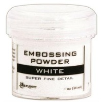 Ranger Super Fine Detail Embossing Powder 1 Ounce WHITE