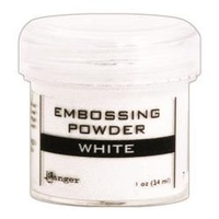 Ranger Embossing Powder 1 Ounce WHITE
