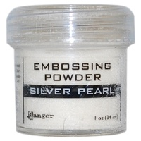 Ranger Embossing Powder 1 Ounce SILVER PEARL