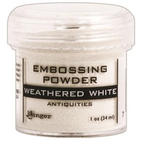 Ranger Embossing Powder 1 Ounce WEATHERED WHITE